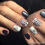 Фото Мехенди на ногтях от 04.08.2018 №098 - Mehendi on the nails - tatufoto.com