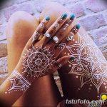 Фото Мехенди на ногтях от 04.08.2018 №104 - Mehendi on the nails - tatufoto.com