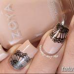 Фото Мехенди на ногтях от 04.08.2018 №107 - Mehendi on the nails - tatufoto.com