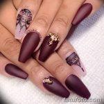 Фото Мехенди на ногтях от 04.08.2018 №108 - Mehendi on the nails - tatufoto.com