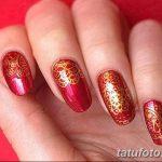 Фото Мехенди на ногтях от 04.08.2018 №109 - Mehendi on the nails - tatufoto.com