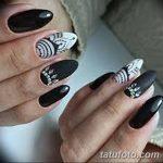 Фото Мехенди на ногтях от 04.08.2018 №110 - Mehendi on the nails - tatufoto.com