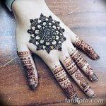 Фото Мехенди на ногтях от 04.08.2018 №111 - Mehendi on the nails - tatufoto.com