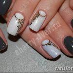 Фото Мехенди на ногтях от 04.08.2018 №119 - Mehendi on the nails - tatufoto.com