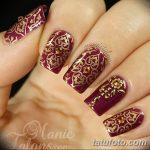 Фото Мехенди на ногтях от 04.08.2018 №120 - Mehendi on the nails - tatufoto.com