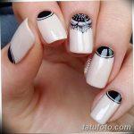 Фото Мехенди на ногтях от 04.08.2018 №124 - Mehendi on the nails - tatufoto.com