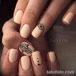 Фото Мехенди на ногтях от 04.08.2018 №125 - Mehendi on the nails - tatufoto.com