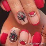 Фото Мехенди на ногтях от 04.08.2018 №126 - Mehendi on the nails - tatufoto.com