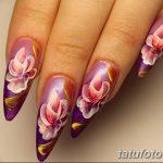 Фото Мехенди на ногтях от 04.08.2018 №129 - Mehendi on the nails - tatufoto.com