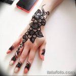 Фото Мехенди на ногтях от 04.08.2018 №131 - Mehendi on the nails - tatufoto.com