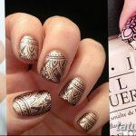 Фото Мехенди на ногтях от 04.08.2018 №133 - Mehendi on the nails - tatufoto.com