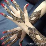 Фото Мехенди на ногтях от 04.08.2018 №137 - Mehendi on the nails - tatufoto.com