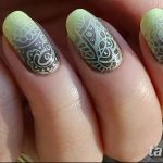 Фото Мехенди на ногтях от 04.08.2018 №138 - Mehendi on the nails - tatufoto.com