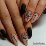 Фото Мехенди на ногтях от 04.08.2018 №143 - Mehendi on the nails - tatufoto.com