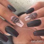 Фото Мехенди на ногтях от 04.08.2018 №145 - Mehendi on the nails - tatufoto.com