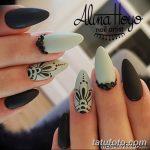 Фото Мехенди на ногтях от 04.08.2018 №149 - Mehendi on the nails - tatufoto.com