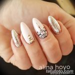 Фото Мехенди на ногтях от 04.08.2018 №150 - Mehendi on the nails - tatufoto.com
