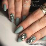Фото Мехенди на ногтях от 04.08.2018 №151 - Mehendi on the nails - tatufoto.com