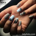 Фото Мехенди на ногтях от 04.08.2018 №158 - Mehendi on the nails - tatufoto.com