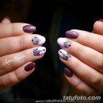 Фото Мехенди на ногтях от 04.08.2018 №159 - Mehendi on the nails - tatufoto.com