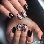Фото Мехенди на ногтях от 04.08.2018 №162 - Mehendi on the nails - tatufoto.com