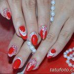 Фото Мехенди на ногтях от 04.08.2018 №163 - Mehendi on the nails - tatufoto.com
