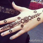 Фото Мехенди на ногтях от 04.08.2018 №164 - Mehendi on the nails - tatufoto.com