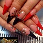 Фото Мехенди на ногтях от 04.08.2018 №165 - Mehendi on the nails - tatufoto.com