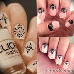 Фото Мехенди на ногтях от 04.08.2018 №166 - Mehendi on the nails - tatufoto.com
