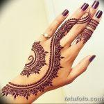 Фото Мехенди на ногтях от 04.08.2018 №168 - Mehendi on the nails - tatufoto.com