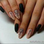 Фото Мехенди на ногтях от 04.08.2018 №169 - Mehendi on the nails - tatufoto.com