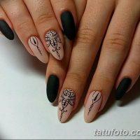 Мехенди на ногтях
