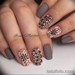 Фото Мехенди на ногтях от 04.08.2018 №171 - Mehendi on the nails - tatufoto.com