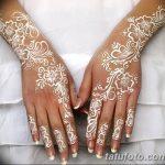 Фото Мехенди на ногтях от 04.08.2018 №174 - Mehendi on the nails - tatufoto.com