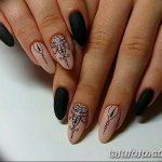 Фото Мехенди на ногтях от 04.08.2018 №176 - Mehendi on the nails - tatufoto.com