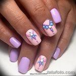 Фото Мехенди на ногтях от 04.08.2018 №177 - Mehendi on the nails - tatufoto.com