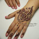 Фото Мехенди на ногтях от 04.08.2018 №178 - Mehendi on the nails - tatufoto.com