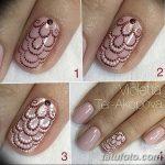 Фото Мехенди на ногтях от 04.08.2018 №179 - Mehendi on the nails - tatufoto.com