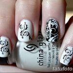 Фото Мехенди на ногтях от 04.08.2018 №182 - Mehendi on the nails - tatufoto.com