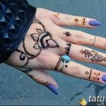 Фото Мехенди на ногтях от 04.08.2018 №184 - Mehendi on the nails - tatufoto.com