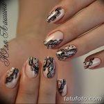Фото Мехенди на ногтях от 04.08.2018 №185 - Mehendi on the nails - tatufoto.com