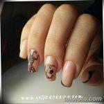 Фото Мехенди на ногтях от 04.08.2018 №186 - Mehendi on the nails - tatufoto.com