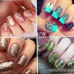 Фото Мехенди на ногтях от 04.08.2018 №190 - Mehendi on the nails - tatufoto.com