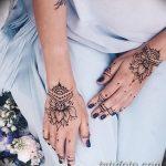 Фото Мехенди на ногтях от 04.08.2018 №192 - Mehendi on the nails - tatufoto.com