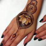 Фото Мехенди на ногтях от 04.08.2018 №193 - Mehendi on the nails - tatufoto.com