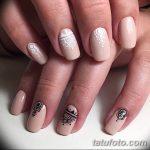 Фото Мехенди на ногтях от 04.08.2018 №195 - Mehendi on the nails - tatufoto.com