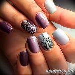 Фото Мехенди на ногтях от 04.08.2018 №196 - Mehendi on the nails - tatufoto.com