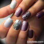 Фото Мехенди на ногтях от 04.08.2018 №199 - Mehendi on the nails - tatufoto.com