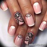 Фото Мехенди на ногтях от 04.08.2018 №200 - Mehendi on the nails - tatufoto.com