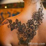 Фото Мехенди на шее от 02.08.2018 №163 - Mehendi on the neck - tatufoto.com